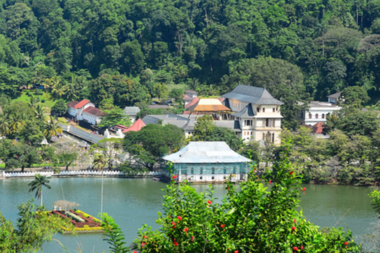 Royal City of Kandy is the cultural capital of Sri Lanka