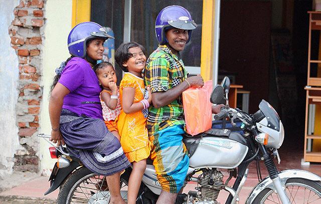 sri lanka people and food